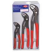 Knipex 002006US1 3-Pc Cobra Pliers Set 7/10/12