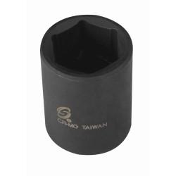 "Sunex Tools 244 1/2"" Drive 6 Point Standard Impact Socket 1-3/8"""