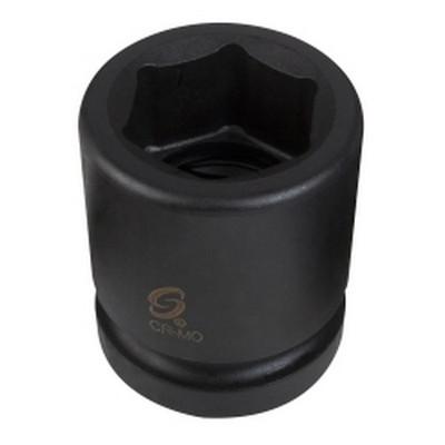 "Sunex Tools 555M 1"" Drive Standard 6 Point Impact Socket 55mm"