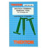 Thexton 584 Deutsch Terminal Removal Tools for 14 Gauge Wire