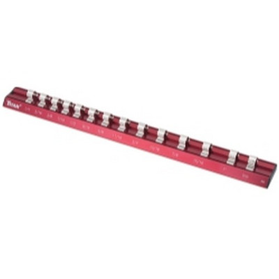 "Titan Tools 38097 3/8"" Drive SAE Magnetic Aluminum Socket Rail"