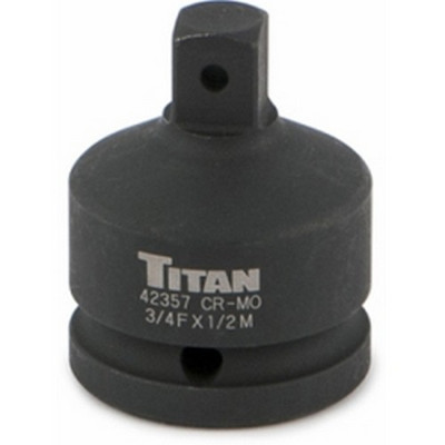 "Titan Tools 42357 Impact Adapter, 3/4"" Female to 1/2"" Male"