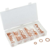 Titan Tools 45217 110 Piece Copper Washer Assortment