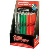 Ullman Devices 15XDISP Multicolor Pocket Telescopic Magnetic Pick-up Tool Display