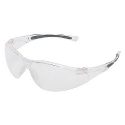 Uvex A800 Plano Collection A800 Series Safety Glasses, Clear Lens/Frame