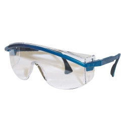 Uvex S1299 Astrospec 3000® Blue Frame Safety Glasses with Clear Lens