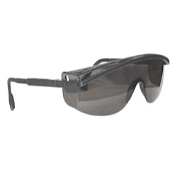 Uvex S1369 Safety Glasses Black Frames/Gray UD Lens