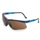 Uvex S3241X Genesis® Vapor Blue Frame Glasses with Espresso Lens with UD Coating