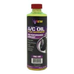 Uview 488100PBD PAG 100 A/C Oil With ExtenDye High Performance Lubricant, 8 oz.,