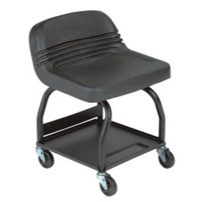 Whiteside Manufacturing HRS Large Padded Mechanic's Seat - Black