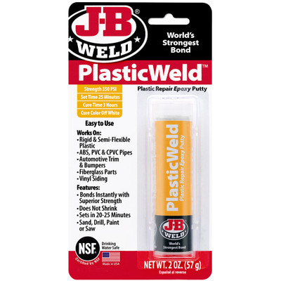 JB Weld 8237 PlasticWeld Epoxy Putty