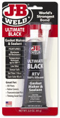 JB Weld 32329 Ultimate Black Silicone Gasket Maker & Sealant - 3 Oz.