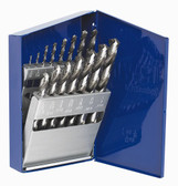 "Irwin 60137 Drill Bit Set, 15 Piece, High Speed Steel, 1/16"" to 1/2"""