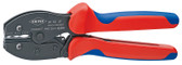 Knipex 975237 Preciforce® Crimping Pliers With Multi-Component Grips 8 3/4 In