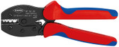 Knipex 975233 Preciforce® Crimping Pliers With Multi-Component Grips 8 3/4 In