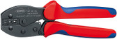 Knipex 975235 Preciforce® Crimping Pliers With Multi-Component Grips 8 3/4 In