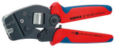 Knipex 975308 Self-Adjusting Crimping Pliers For End Sleeves With Front Loading 7 1/2 In