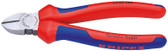 Knipex 7002160 Diagonal Cutter Black Atramentized With Multi-Component Grips 6 1/4 In