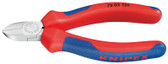 Knipex 7202125 Diagonal Cutter For Plastics With Multi-Component Grips 5 In