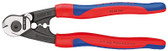 Knipex 9562190SBA Bowden Cable Cutter Plastic Coated 7 1/2 In