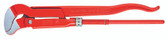 Knipex 8330010 Pipe Wrench S-Type Red Powder-Coated 13 In
