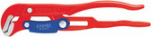 Knipex 8360010 Pipe Wrench S-Type With Fast Adjustment Red Powder-Coated 13 In
