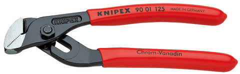 Knipex 9001125 Mini Water Pump Pliers With Groove Joint Plastic Coated 5 In