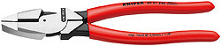 Knipex 0901240SBA Lineman'S Pliers New England Style With Non-Slip Plastic Coating 9 1/2 In