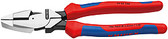 Knipex 0902240SBA Lineman'S Pliers New England Style With Multi-Component Grips 9 1/2 In