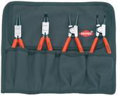 Knipex 001956 Set Of Circlip Plier 4 Parts