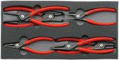 Knipex 002001V02 Circlip Pliers Set Six Circlip Pliers In A Foam Tray
