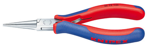 Knipex 3572145 Electronics Pliers With Multi-Component Grips 5 3/4 In