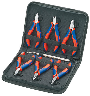Knipex 002016 Case For Electronics Pliers For Working On Electronic Components
