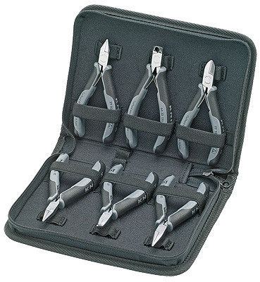 Knipex 002017 Case For Electronics Pliers For Working On Electronic Components