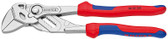Knipex 8605150 Mini Plier Wrench Pliers and Wrench In A Single Tool Nickel Plated 6 In
