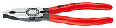 Knipex 0301160 Combination Pliers Black Atramentized Plastic Coated 6 1/4 In
