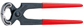 Knipex 5001225 Carpenters' Pincer Black Plastic Coated 9 In