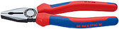 Knipex 0302200 Combination Pliers Black Atramentized With Multi-Component Grips 8 In