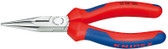 Knipex 2502160 Chain Nose Side Cutting Pliers (Radio Pliers) With Multi-Component Grips 6 1/4In