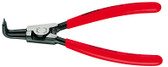 Knipex 4621A31 Circlip Pliers To Assemble External Circlips On Shafts Plastic Coated 8 In