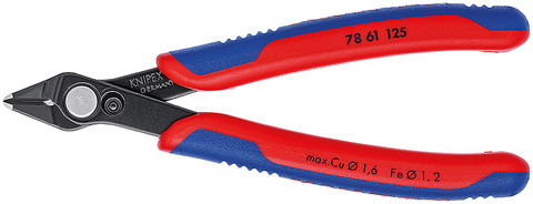 Knipex 7861125SBA Electronic Super Knips® Esd With Multi-Component Grips 5 In