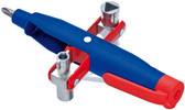 Knipex 001107 Pen-Style Cabinet Key For All Standard Cabinets and Shut-Off Systems 5 3/4 In