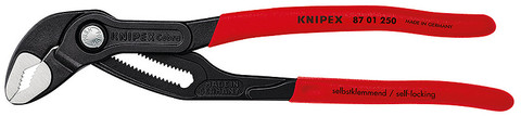 Knipex 8701125SBA Cobra® High-Tech Water Pump Pliers With Non-Slip Plastic Coating 5 In