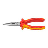 Knipex 2508160SBA Chain Nose Side Cutting Pliers Radio Pliers