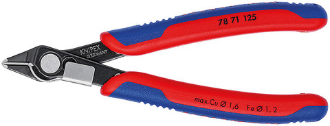 Knipex 7871125 Electronic Super Knips® With Multi-Component Grips 5 In