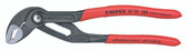 Knipex 8701180SBA Cobra Degrees High-Tech Water Pump Pliers With Non-Slip Plastic Coating 7 1/4 In