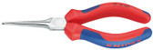 Knipex 3115160 Flat Nose Pliers (Needle-Nose Pliers) Black Atramentized Plastic Coated 6 1/4 In