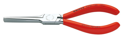 Knipex 3303160 Duckbill Pliers Chrome Plated Plastic Coated 6 1/4 In