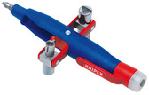 Knipex 001117 Pen-Style Profi-Key For All Standard Shut-Off Systems 5 3/4 In
