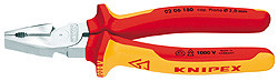 Knipex 0206225SB High Leverage Combination Pliers With Multi-Component Grips 9 In